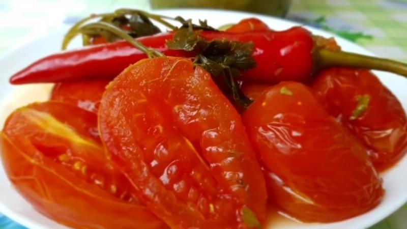 Помидоры квашеные на зиму. Цыганка готовит. Gipsy cuisine.🍅🍅🍅