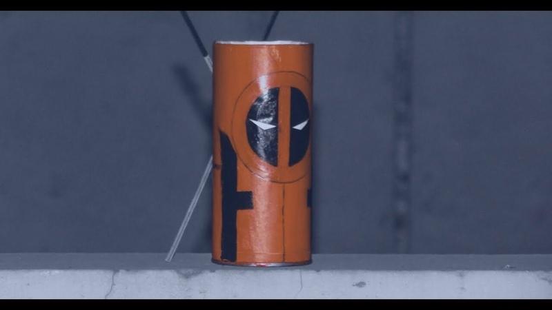 Diy marvel diydeadpool diymarvel DIY Marvels Deadpool pen holder easy tutorial