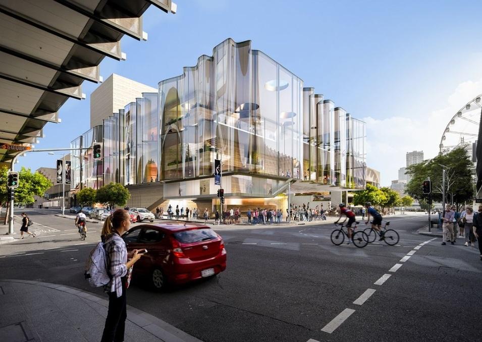 Snøhetta проектирует театр с полностью прозрачным фасадом для Брисбена
