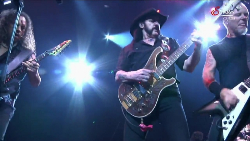 Lemmy (Motorhead) feat. Metallica - Damage Case. Live.