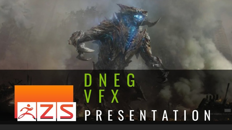 ZBrush Kaiju Creation for Pacific Rim: Uprising with DNEG - ZBrush Summit 2018
