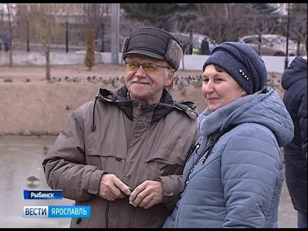В Рыбинске завершилось благоустройство Карякинского парка
