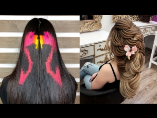 Профессиональные Стрижки Прически.Техника Окрашивания волос Омбре Шатуш Балаяж 2018
