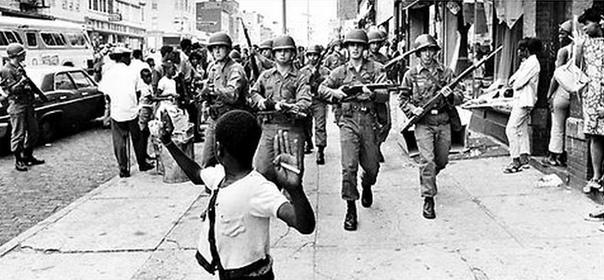 ВОССТАНИЕ В 1968 ГОДУ В США