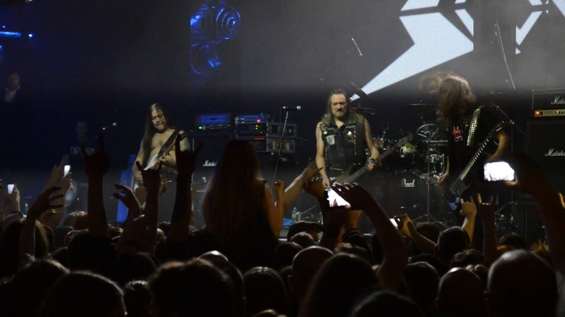 SODOM Obsessed by Cruelty Москва Red 13 10 2018