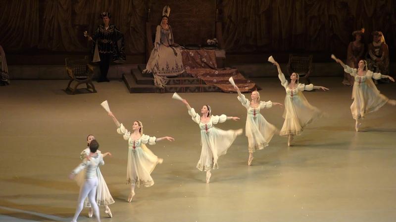 03/10/18 Swan Lake Act II debut Bride Bulanova and Odile Novikova