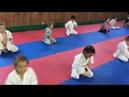 Тренировка детей Киокусинкай каратэ
