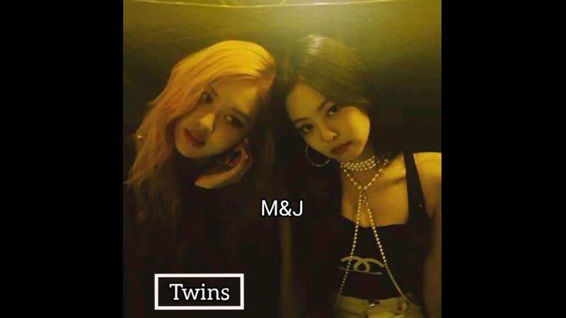 MJ twins-queens.
