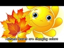 Autumn Songs for Children - Autumn Leaves are Falling Down - Kids Songs by The Learning Station