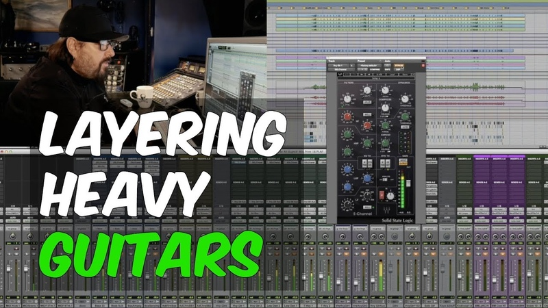 How To Layer Heavy Guitars in a Rock Song with Bob Marlette - Warren Huart Produce Like A Pro