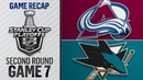 Pavelski helps Sharks advance to WCF with Game 7 win