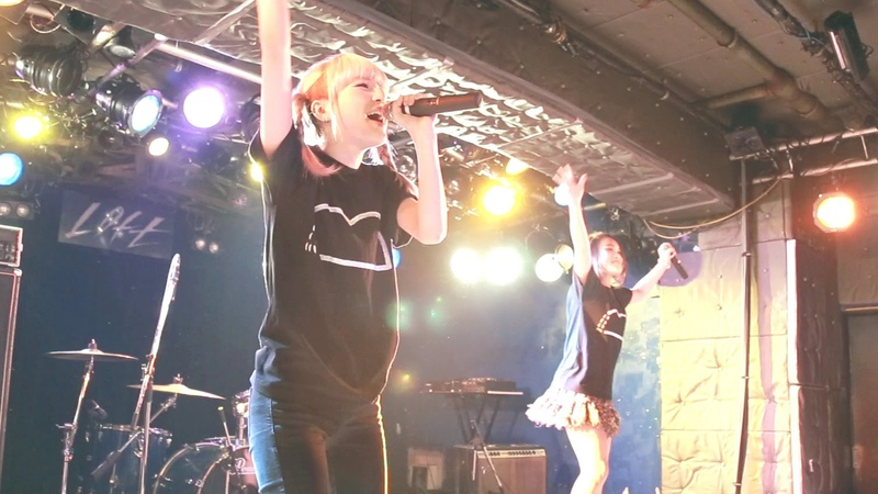 2015 04 16 8mm ハチミリ 初披露 @新宿LOFT おやすみホログラム×ライムベリー