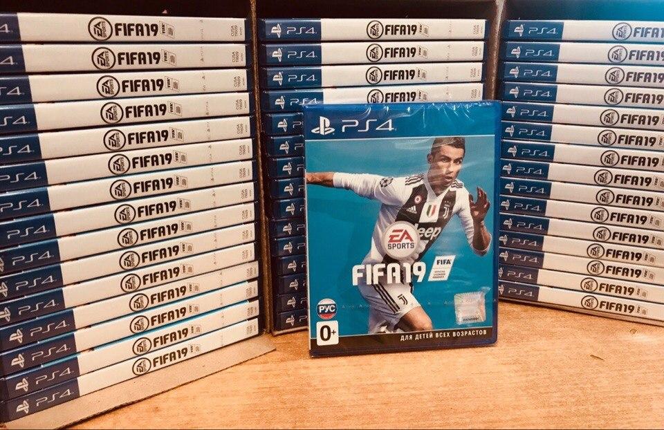FIFA 19 для PS4 НОВЫЕ 3390р АКЦИЯ