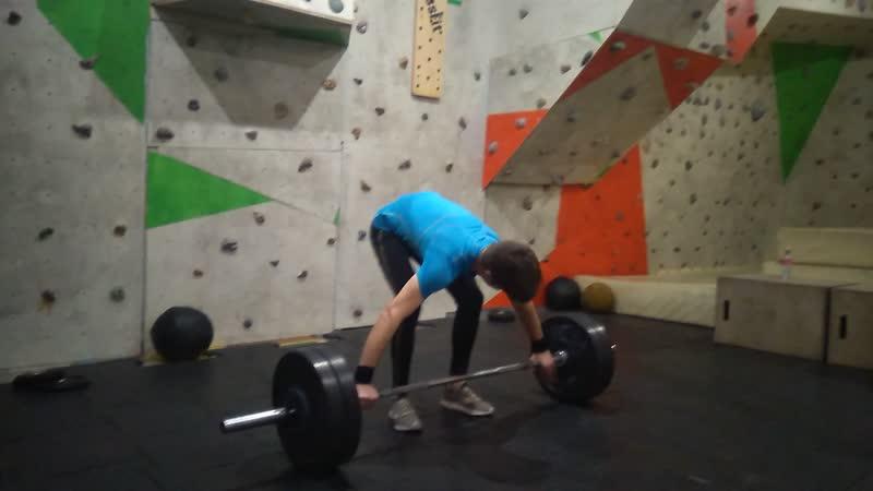 Snatch 72,5 kg 10.12.2018