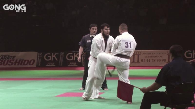 Combat Kyokushin - Navarro Vs Mirel