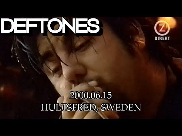 DEFTONES | Live at Hultsfred Festival 2000 [PRO/FULL SET]