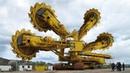 10 Extreme Dangerous Biggest Rotary Bucket-wheel Excavator Ditcher Trencher Plow Pipe Layer Truck