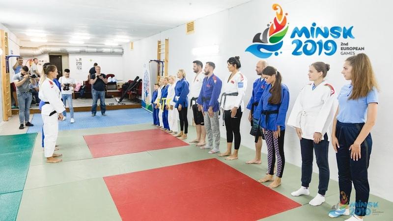 Звездная тренировка по дзюдо «Bright judo training» c белорусскими селебрити