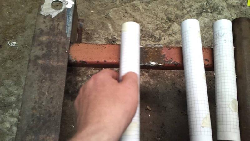 Как просверлить сквозное отверстие в трубе любого диаметра