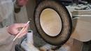 Add gold leaf to woodturning !