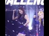 oops sana accidentally caught the confetti with her mouth
