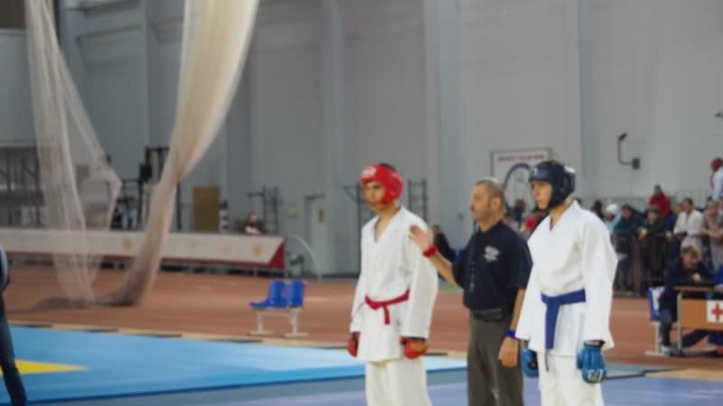 Гусаков Нил-Салихов Дмитрий (Лапландия) бой 3