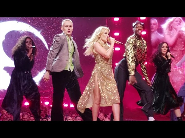 Kylie Minogue Disco Medley New York City Raining Glitter On A Night Like This UHD