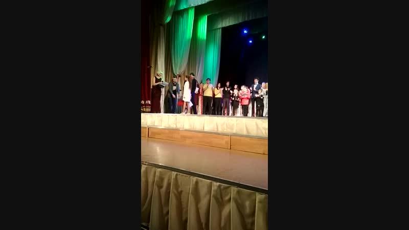 Никитина Анна солистка Вокально театральной студии БИС на Между народном конкурсе КИТ