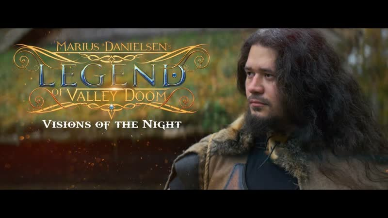 Marius Danielsens Legend of Valley Doom - Visions of the Night (Official Music Video)