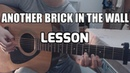 LESSON TABS   Another Brick In The Wall   Gabriella Quevedo Pink Floyd fingerstyle guitar