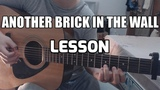 LESSON &amp TABS Another Brick In The Wall Gabriella Quevedo Pink Floyd fingerstyle guitar