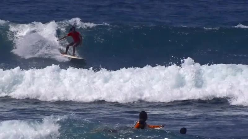 Серфинг 🏄🏽: три волны на лонге