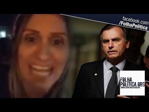 Em meio a tiroteio e com filhas chorando, cidadã alerta contra o ELENAO e defende Bolsonaro
