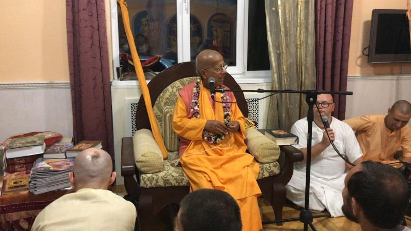 Лекция ЕС Гопал Кришна Госвами Махараджа 21.09.2018г. г.Сочи