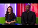 BBC The One Show-Lara Pulver, Adrian Lester