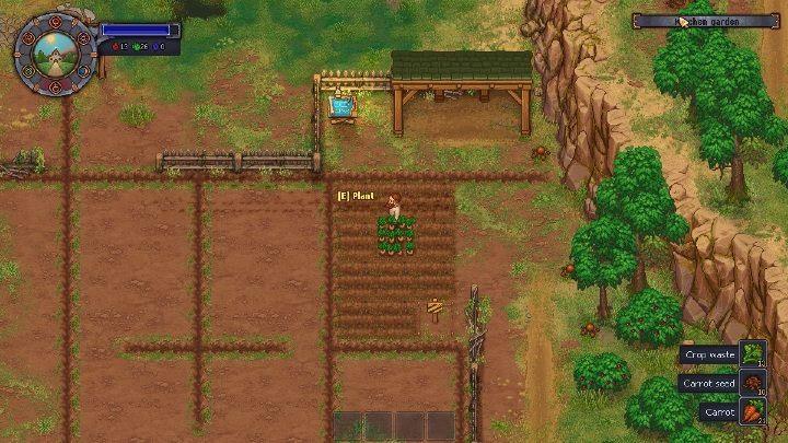 Сбор урожая в Graveyard Keeper