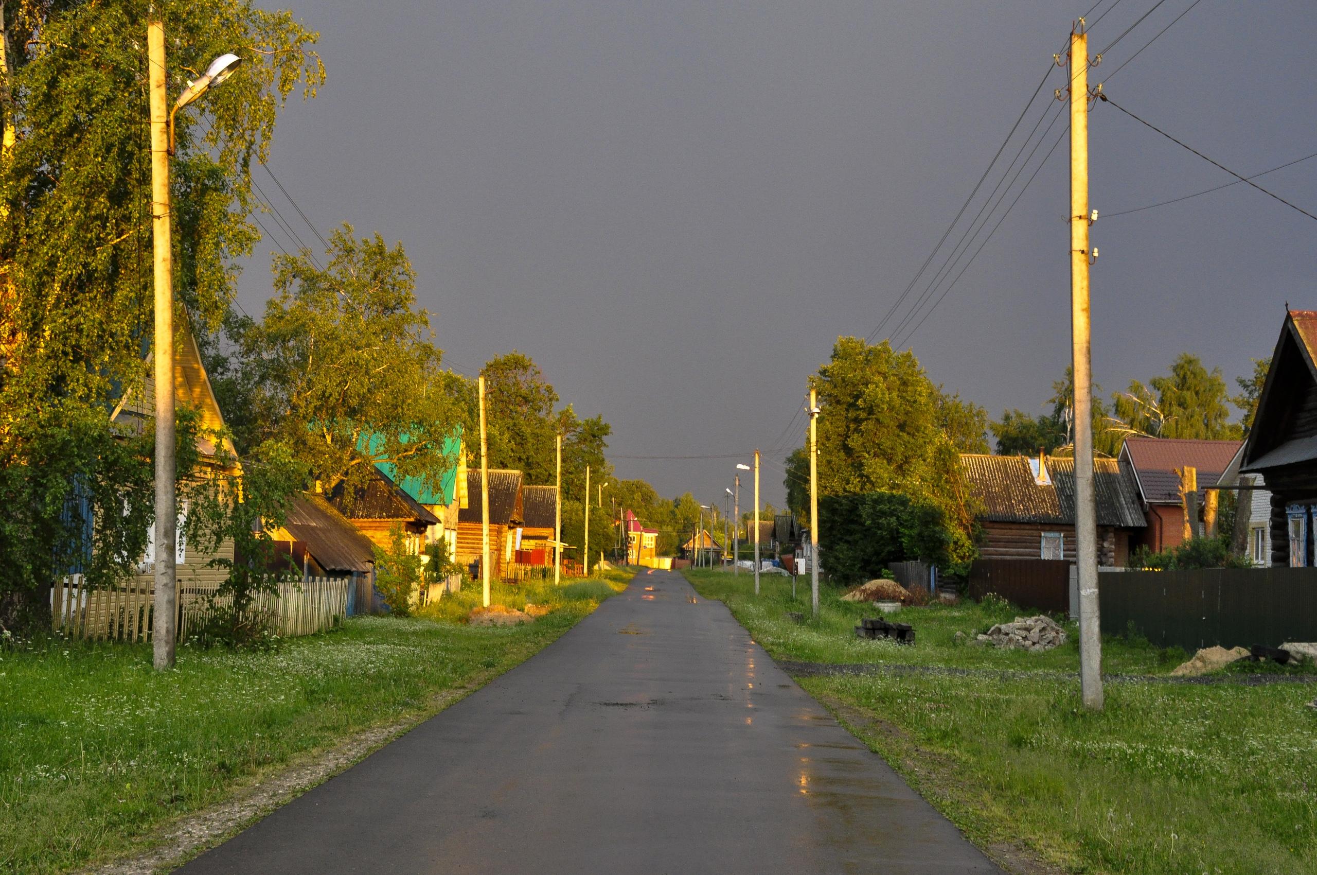 УТРО После дождя