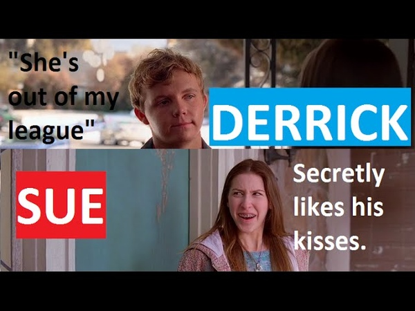 The Middle - Sue Heck and Derrick Glossner