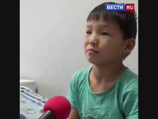 В Якутии 10-летний мальчик спас четверых детей из горящего дома. Герой!