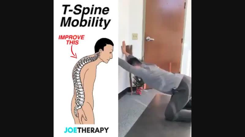 Улучшить осанку Грудной отдел спины сделать более подвижным