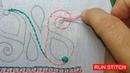 Latest Nakshi kantha stitch tutorial 44 PART 2 নকশী কাঁথা সেলাই কাঁথার ফোড় আধুনি 24