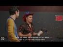 Sam Rockwell and Ben Schwartz - After Hours with Josh Horowitz (Русские субтитры)