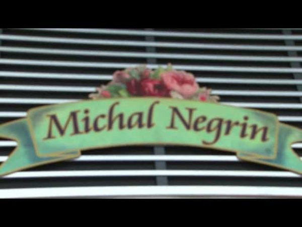 Michal Negrin concept store - first opening in Budapest