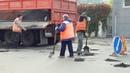 Ямочный ремонт на ул. Пятницкая, Тамбов.