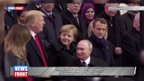 Путин показал Трампу большой палец и похлопал по плечу