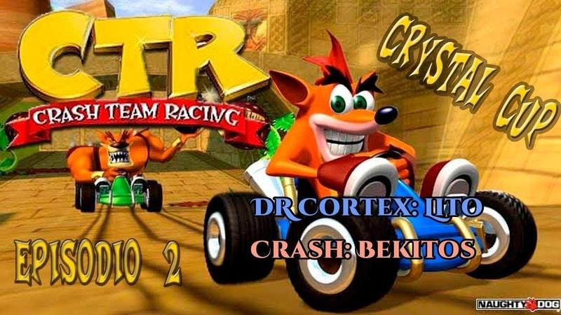 Crash Team Racing Crystal Cup Multiplayer con Lito
