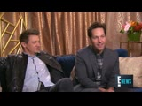 Jeremy Renner and Paul Raud Funny Interview Avenger Endgame