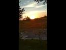 Золотистый закат
