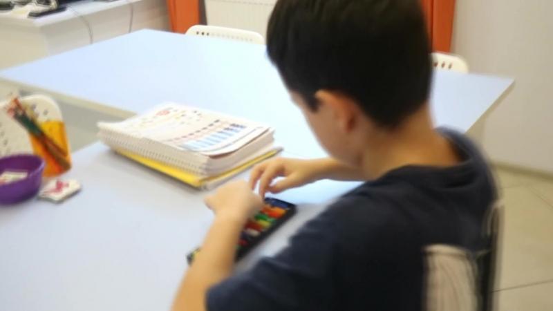 Занятие по ментальной арифметике в Школе IQ007
