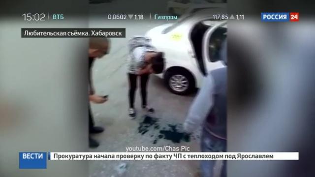 Новости на Россия 24 • Таксист заставил зайцев измазаться зеленкой